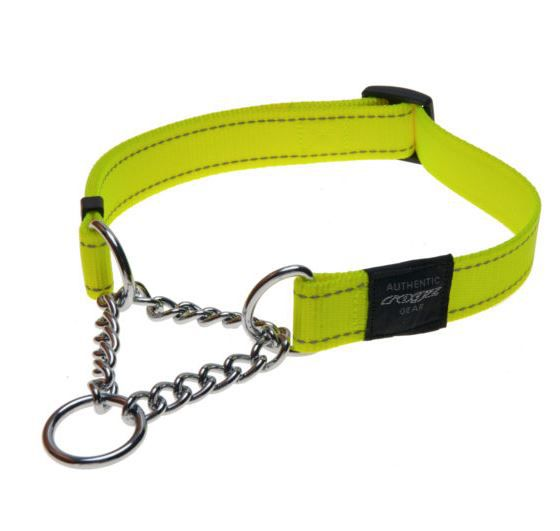 ROGZ COLLARE OBEDIENCE UTILITY VERDE ACIDO