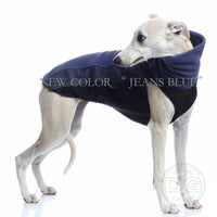 "MAGLIETTA ""DG OUTDOOR FLEECE TOP"" BLUE JEANS PER PLI, WHIPPET, LEVRIERO"