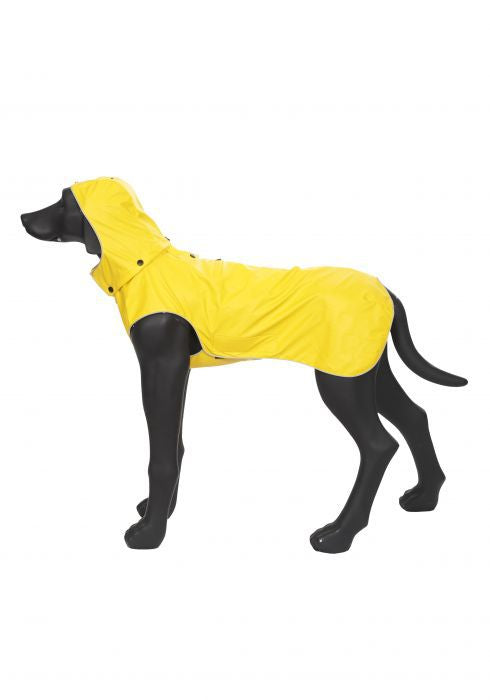 "RUKKA IMPERMEABILE PER CANI ""STREAM RAINCOAT"" GIALLO"