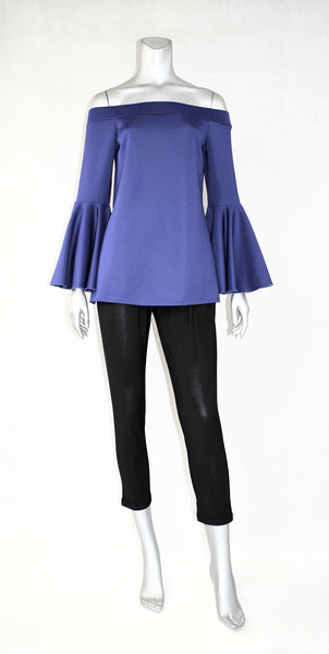 C3-LS Trumpet Off Shoulder Tunic
