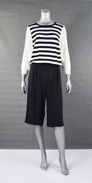 A1-A Line Knee Length Culottes