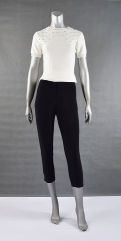 A1-Jersey Cropped Pants
