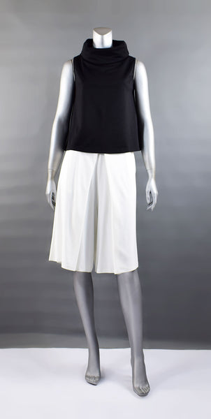 A1-Inverted Pleat Culottes