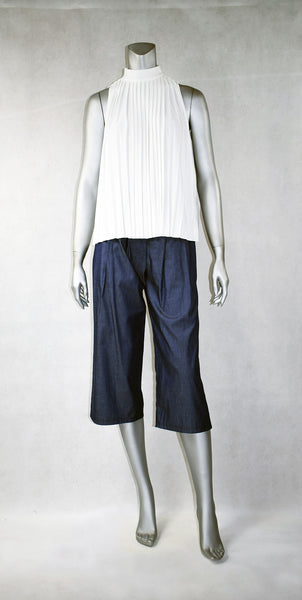 A1-Denim Culottes