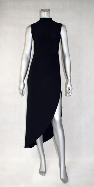 D4-Mockturtle High Slit Dress
