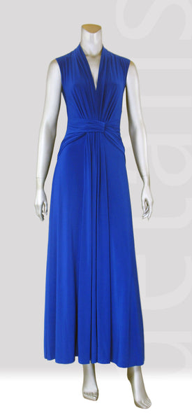 E5-Classic Sleeveless Maxi Dress
