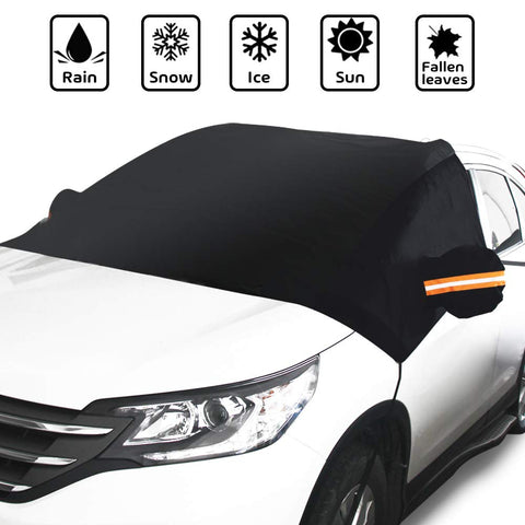 Car Windshield Snow Cover with Side Mirror Covers