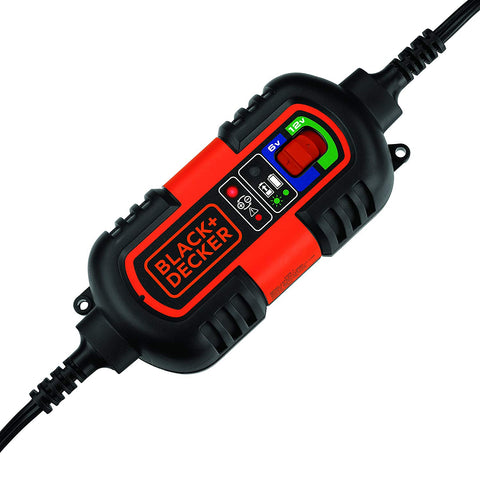 Fully Automatic 6V/12V Battery Charger/Maintainer with Cable Clamps