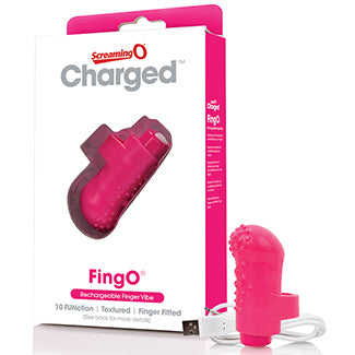 Rechargeable Finger Vibe-Pink