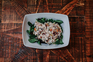 Honey Almond Chicken Salad Side (per pound)