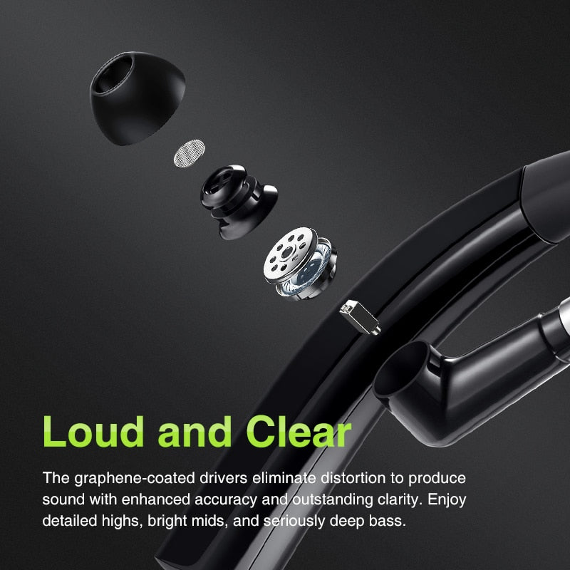 SANLEPUS M11 Bluetooth Earphone Wireless Headphones Handsfree Earbud Headset With HD Microphone For Phone iPhone xiaomi Samsung - DiscountMall