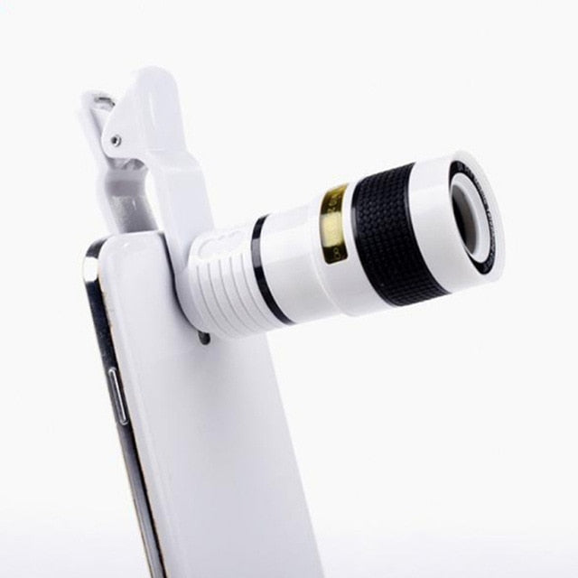 2018 New Transform Your Phone Into Professional Quality Camera HD360 Zoom Telescope 8X Telephoto Lens Use On Any Smartphone - DiscountMall