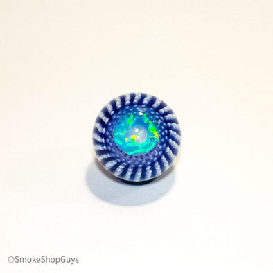 Steve H Glass 10mm Opal Coin Burst Marble - SmokeShopGuys