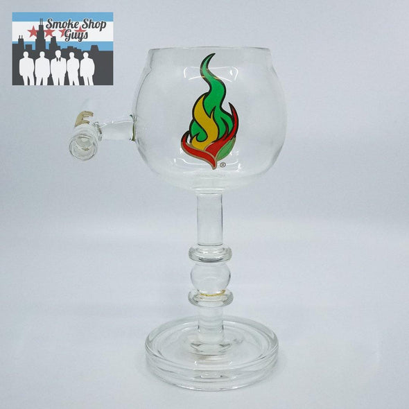 Medicali Tall Chalice With Chillum - Medicali -- SmokeShopGuys Glass