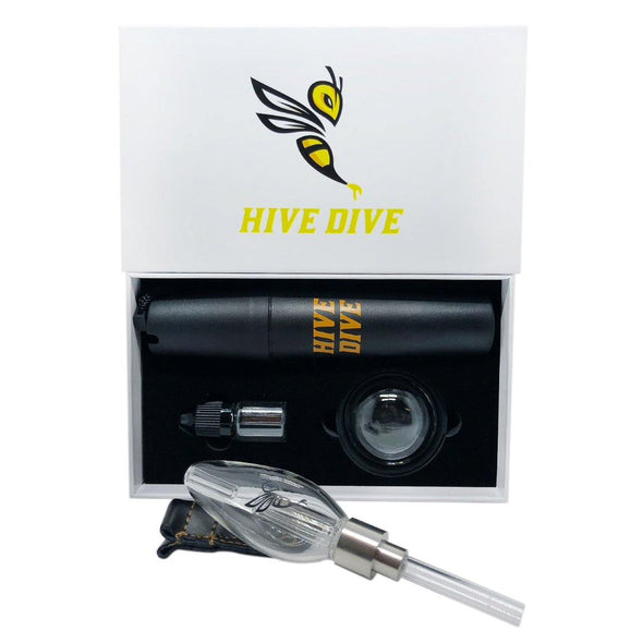 Hive Dive Nectar Collector Concentrate Hand Pipe - Hive-Dive -- SmokeShopGuys Concentrate Vaporizers