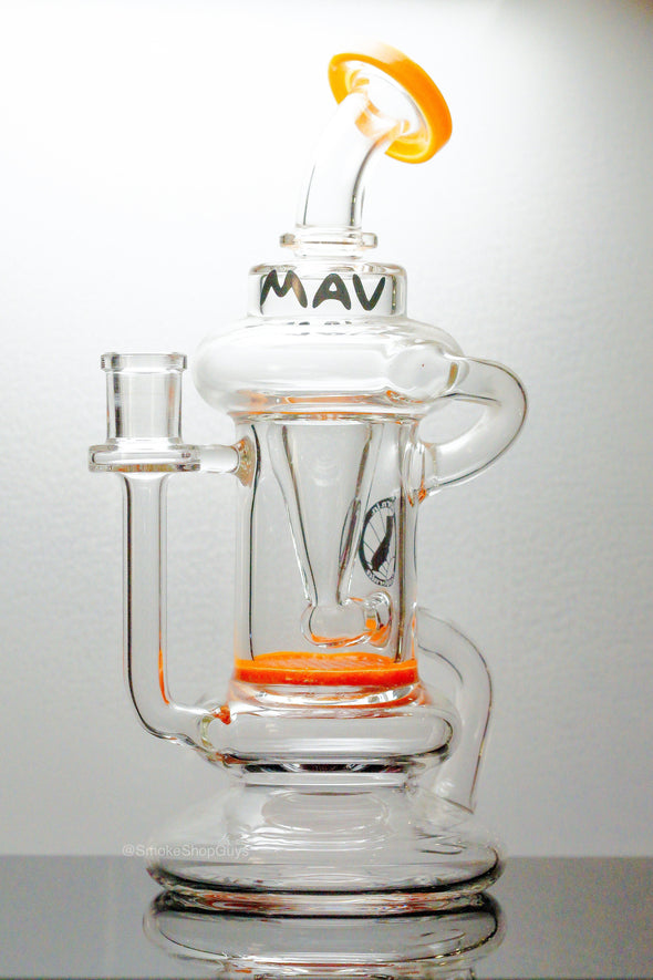 Mav Glass Honey Comb Recycler - SmokeShopGuys