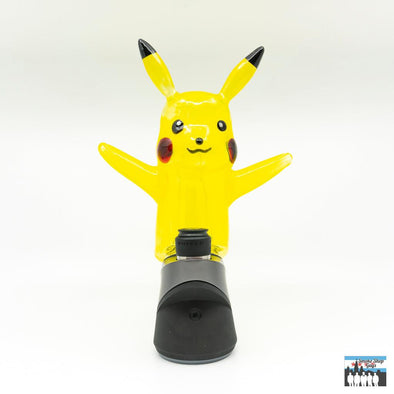 Daniels Glass Art Puffco Peak Attachment (Pikachu UV)