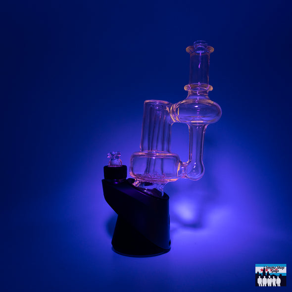 Coopers Glass RBR Recycler Puffco Peak Attachment W/ Cap (Exp. UV)