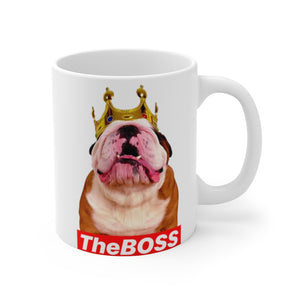 The BOSS - White mug 11oz