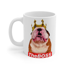 Load image into Gallery viewer, The BOSS - White mug 11oz