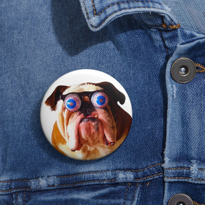 Slobbery Pin Button
