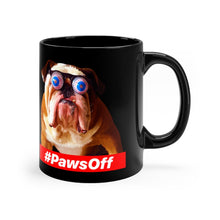 Load image into Gallery viewer, Paws Off - Black mug 11oz