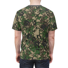 Load image into Gallery viewer, PAWS Camo 1 - Unisex All Over Print Cut & Sew Tee