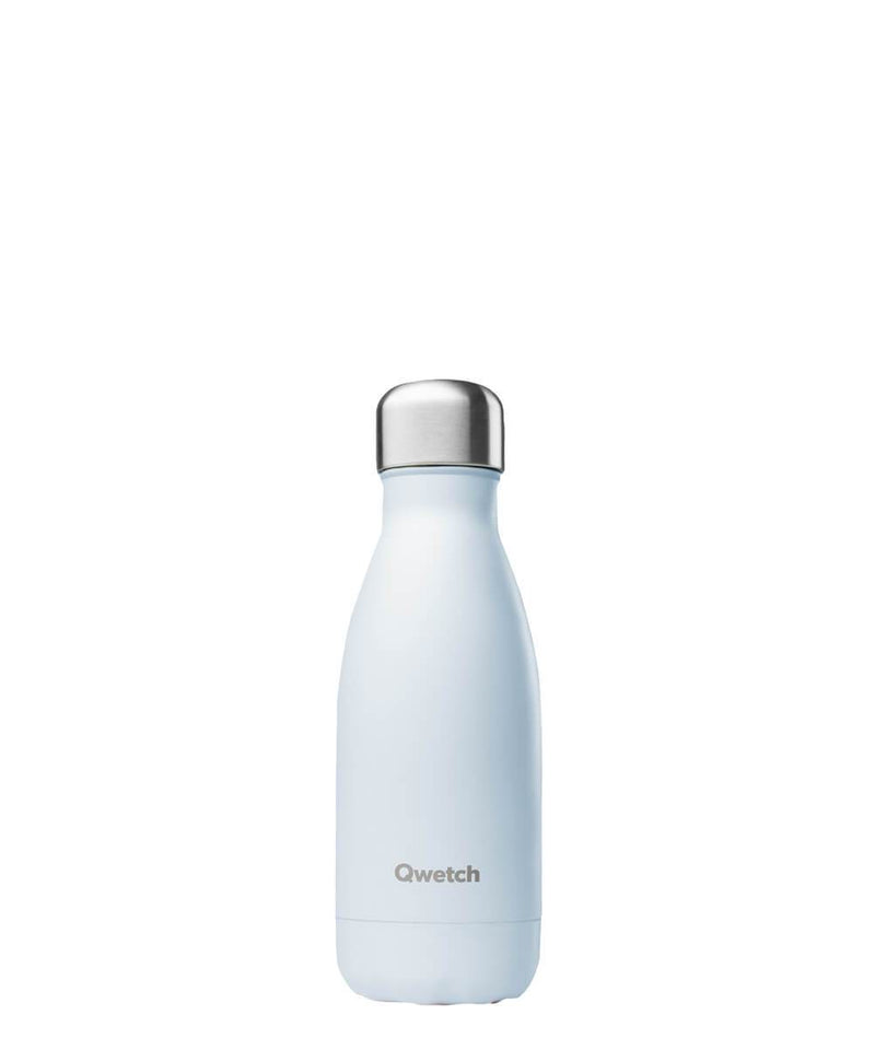 Gourde bouteille isotherme en inox - Pastel Bleu - 260 ml-Default Title-Gourde-Qwetch-Nature For Kids-1