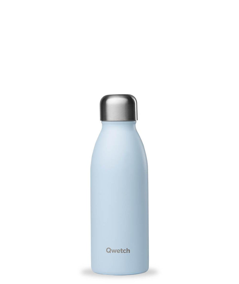 Gourde bouteille Simple inox - Pastel Bleu - 500 ml-Default Title-Gourde-Qwetch-Nature For Kids-1