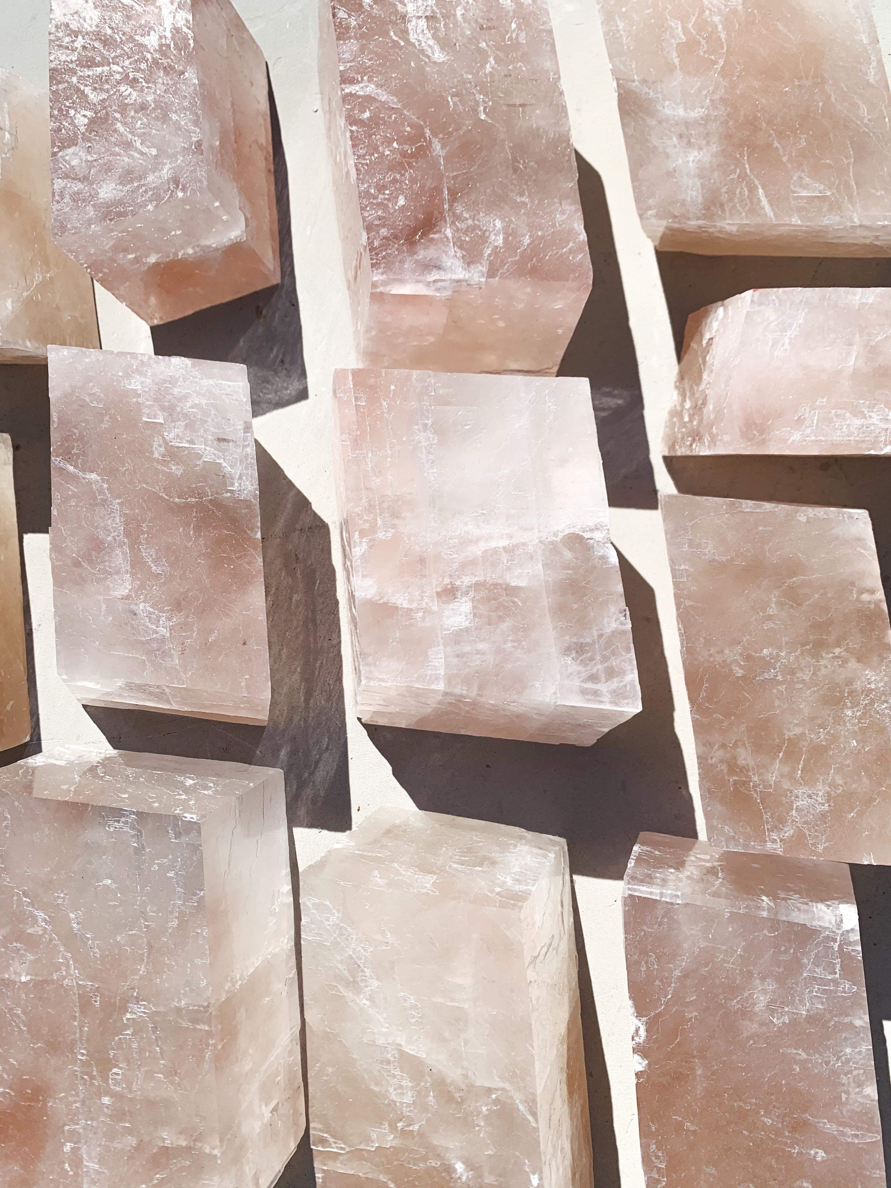 Mini Pink Optical Calcite - Intuitively Chosen