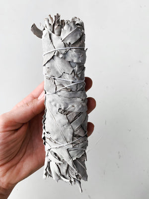 Large White Sage Wand
