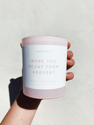 Were You Scent From Heaven? - Limited Edition V Day Candle