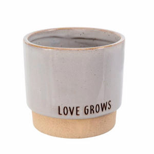 IND Love Grows Stone Pot