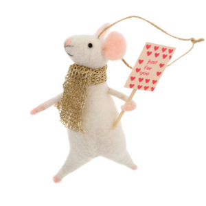 "IND ""Just for you Jackson"" Felted Mice"