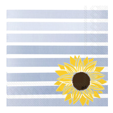 BOS Cocktail Napkin Pattern Play Sunflower