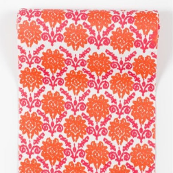 TPC Pink Floral Table Runner.