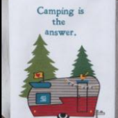 KDD Camping Life Assorted Tea Towels