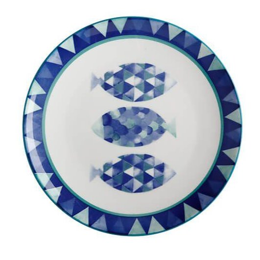 Maxwell Reef Fish Side Plate