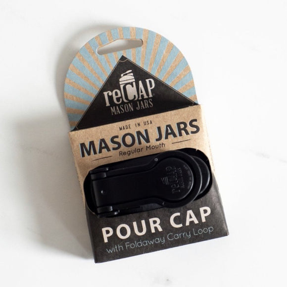 KOR Mason Jar Lid Pour Collection (regular size)