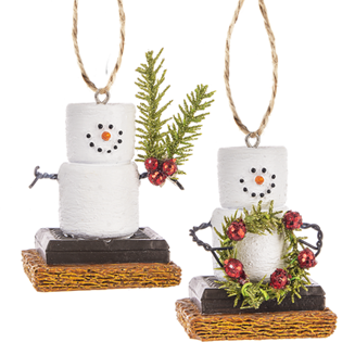 GAN S'mores Ornaments Assorted