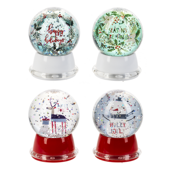 MID LED Light Up Holly Jolly Friends Mini Shimmers Assorted