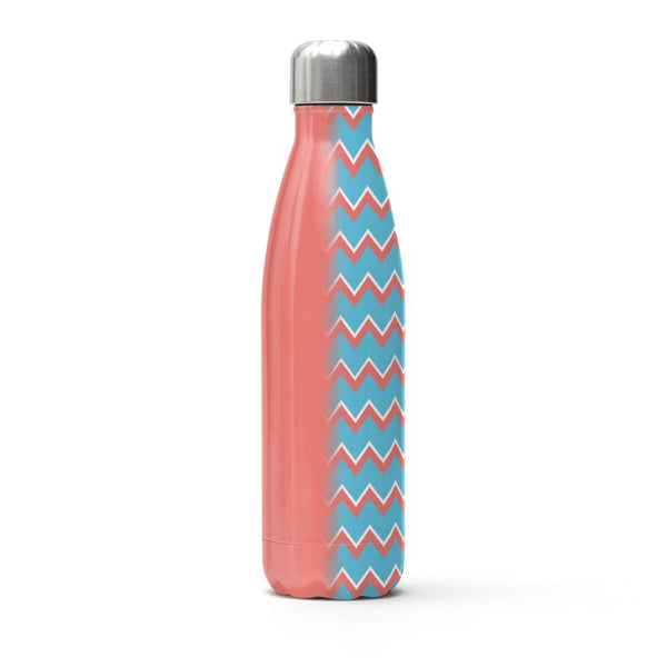 Zig Zag Stainless Steel Thermal Bottle - HusLiving