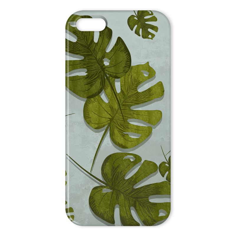 Cheese Plant Apple Phone Case - HusLiving