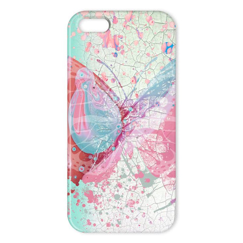 Butterfly Paint Apple Phone Case - HusLiving