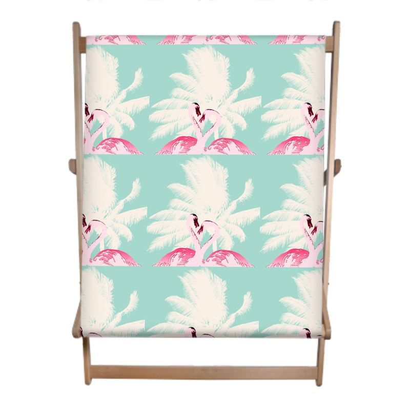 Kissing Flamingos Double Deck Chair - HusLiving