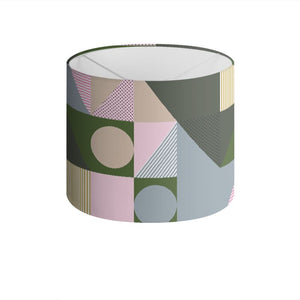 Scandinavian Geometric Abstract Lamp Shade - HusLiving