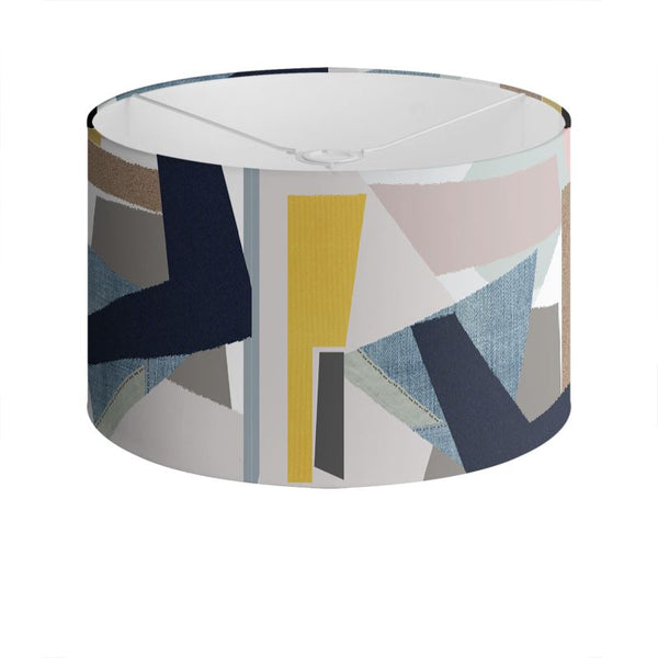Collage Textures Lamp Shade - HusLiving