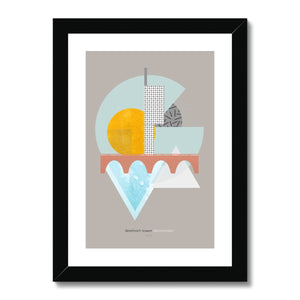 Landmarks - Beetham Tower, Manchester Framed & Mounted Print - HusLiving