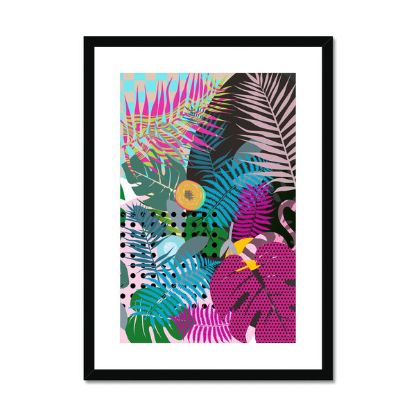 Exotic Escape Framed & Mounted Print - HusLiving