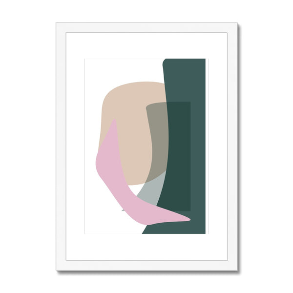Curve Framed & Mounted Print - HusLiving